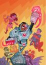 Justice League Vol 2 42 Textless Teen Titans Go! Variant.jpg