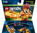 71222 Legends of Chima Laval Fun Pack