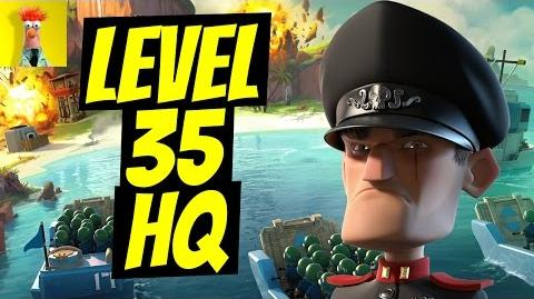 Guide To Hammerman's HQ level 35