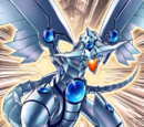 Dragon aux Yeux Bleus Rayonnants