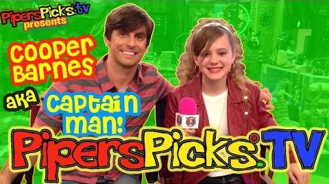 Sneaking onto the HENRY DANGER Set & Meeting Captain Man! Interview with Cooper Barnes!