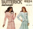 Butterick 6924 B