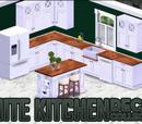 White Kitchen Decor Collection