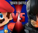 DC vs Mario themed Death Battles