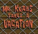 El Señor Cangrejo se va de Vacaciones