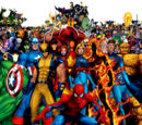 Characters hailing from the Marvel Universe