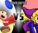 Purple Link vs Blue Toad