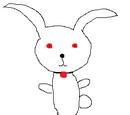 Bunny-like mascots
