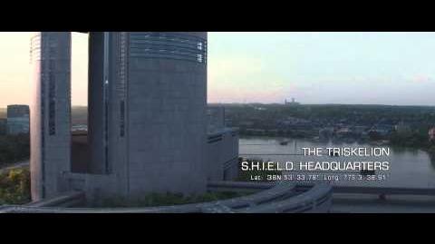 Captain America The Winter Soldier (2014) - The Triskelion (HD)