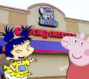 Peppa goes to Chuck E Cheese