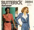 Butterick 3894 A