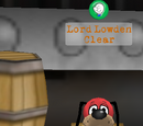 Lord Lowden Clear