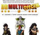 Universe 3: Puppet monster against puppet warriors