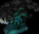 Giant sea monster