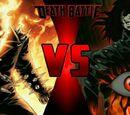 Ghost Rider VS Alucard