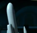 Lasergelenkter Raketenstab
