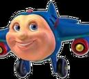 Jay Jay the Jet Plane kaleidoscope