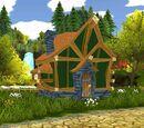 Das erste Haus...