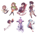 CocoAlley Characters