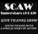 SCAW Give Thanks Show