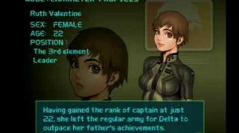 Air Force Delta Strike Character Profile-Ruth Valentine