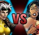 Rogue VS Wonder Woman