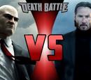 Agent 47 vs John Wick