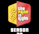 The Price is Right/Season 38 Statistics