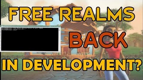 FREE REALMS BEING REDEVELOPED!