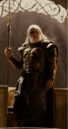 Loki Laufeyson (Earth-199999) disguised as Odin Borson (Earth-199999) from Thor The Dark World 001.png