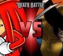 Knuckles VS Wolverine