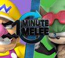 Chompy-King/One Minute Melee - Wario VS Scourge