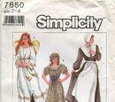Simplicity 7650 B