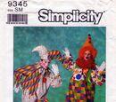 Simplicity 9345 A
