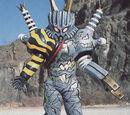 Monstruos de Power Rangers: Fuerza Salvaje