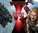 Godzilla vs Thor