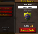 Guild creation
