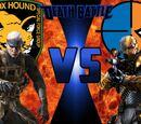 Solid Snake vs Deathstroke