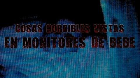Cosas horribles vistas en monitores de bebé Dross (Angel David Revilla)