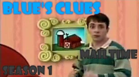 "Blue's Clues ""Mailtime"" (Season 1) Version"
