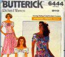 Butterick 6444 A