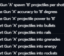 Gun modifications