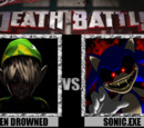 BEN Drowned vs Sonic.EXE