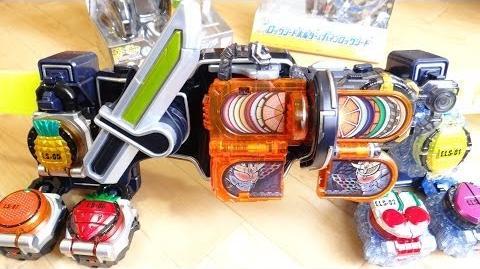 仮面ライダー鎧武 極アームズの戦極ドライバーを完全再現!紘汰が所持する合計8個のロックシードを装着!DXロックシードホルダーを追加購入レビュー ガイム DX極ロックシード