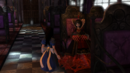 Alice talking to the Queen in the Infernal Train.png