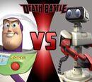 Buzz Lightyear vs. R.O.B.