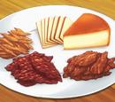Queso Ahumado y Tres Tipos de Carne Seca