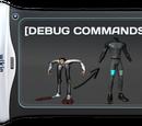 Debug Console Commands