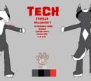TechSaur/fursona ref again