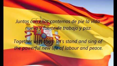 """Spanish National Anthem - """"La Marcha Real"""" (ES EN)"""